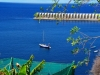 1 unser Ankerplatz hier in La Palma